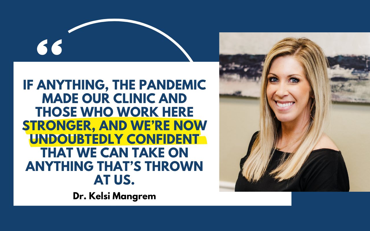 Dr Kelsi Mangrem quote and image - blog feature